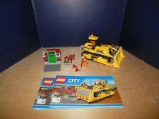 Lego City 60074 Construction Bulldozer heavy equipment all pieces