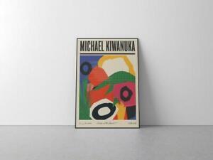 Michael Kiwanuka gig poster