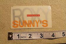 ROXY Sunny's Sunset Hawaiian Quicksilver Vintage Surfing Decal STICKER