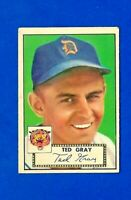 1952 TOPPS BASEBALL #86 TED GRAY EX/EXMT DETROIT TIGERS LOW #
