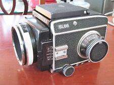 ROLLEIFLEX SL66 w/80mm F2.8 with manual