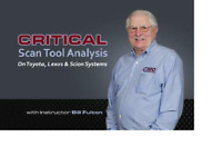 Automotive Training Critical Scan Tool Analysis / DVD / LBT-363