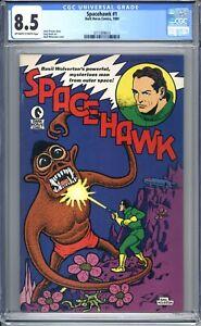 Spacehawk #1 CGC Graded 8.5 (VF+) 1989  First Issue - Dark Horse - Bronze Age