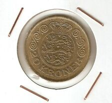 Denmark : 20 Kroner 1991 VF+