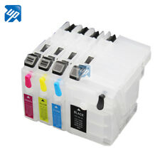 Refillable ink cartridge for Brother DCP-J100 DCP-J105 MFC-J200 J100 J105 J200