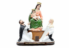 Our Lady of the Rosary resin statue cm. 50