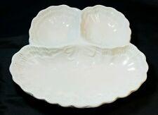 MAXIM Italian 3 Section Ceramic Serving Plate