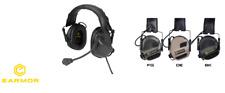 Earmor OPSMEN cuffie M32 Tactical Communication Hearing Protector TAN DE