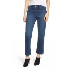 NWT $218 Current/Elliot The Original Straight Button Fly Westry Blue Jeans Sz 28