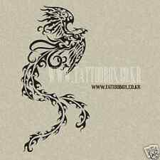 Reusable airbrush stencils Temporary Tattoo Stencils - Bird in A4 sheet size