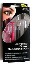 ARDELL* 4pc Complete BROW GROOMING KIT Shape Razor+Pencil+Comb FLAWLESS RESULTS
