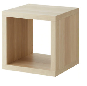 Ikea KALLAX Open Cabinet Shelf Shelving Unit 1S Book Case,42x42 cm,white stained