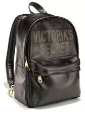 Victoria's Secret Backpack GLAM ROCK CITY STUDDED GOLD BLACK NEW