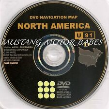 Toyota Generation 6 GPS Navigation DVD Map Disc 100% authentic,original disc U91