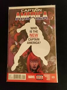CAPTAIN AMERICA #25 FIRST PRINTING SAM WILSON 1