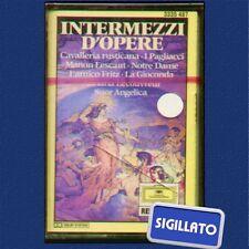 "INTERMEZZI D'OPERE""I PAGLIACCI..ECC.""MUSICASSETTA SIGILLATA  DEUTSCHE GRAMMOPHON"