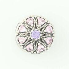NEW Authentic Pandora Shimmering Medallion Charm Ster Purple 791974NPRMX Retd
