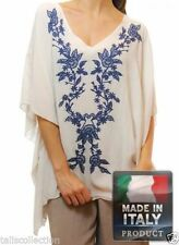 Kimono Sleeve Unbranded Machine Washable Floral Tops & Blouses for Women