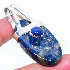 "Jewelry Pendant 1.97"" Rl-2449 Lapis Lazuli Gemstone Ethnic Handmade"