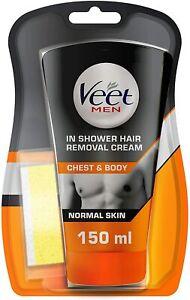 Veet Men In-Shower Hair Removal Cream 150 ml