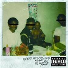 CD de musique rap Kendrick Lamar sur album