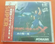 Pce Works Repro Akumajo Dracula X Castlevania Rondo Nec Pc Engine Turbo Duo R