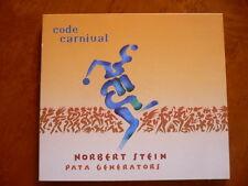 Norbert Stein,  Pata Generators, code carnival, Jazz