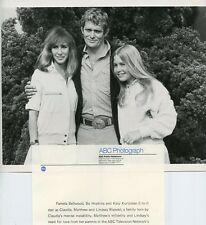 PAMELA BELLWOOD BO HOPKINS KATY KURTZMAN SMILING DYNASTY ORIG 1981 ABC TV PHOTO