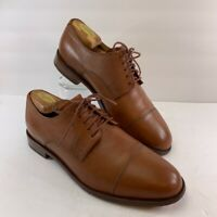 Cole Haan Grand OS Mens Oxford Dress Shoes Brown Lace Up Cap Toe C14242 10.5 M