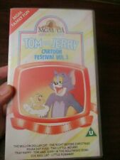 Tom and Jerry Cartoon Festival Vol 3  VHS Video Tape (NEW)