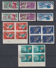 RUSSIA 1963/4 SPACE SETS (x2) CTO USED (ID:493/D51621)