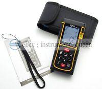 80M/262ft/3150in Digital Laser Distance Meter Range Finder Measure Diastimeter