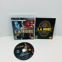L.A. Noire Sony PlayStation 3 PS3 Video Game Complete With Manual