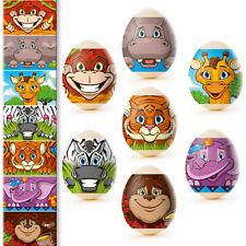 Easter Egg Wraps Thermo Heat Shrink Sleeve Decoration Pysanka Pysanky Jungle