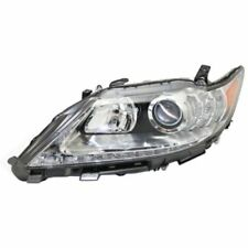 For ES350 13-15, CAPA Driver Side Headlight, Clear Lens
