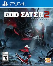 PLAYSTATION 4 GOD EATER 2 RAGE BURST BRAND NEW VIDEO GAME