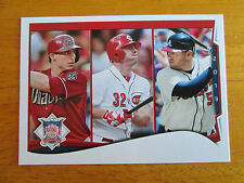 2014 Topps ERROR - NO NAME Paul Goldschmidt - Jay Bruce - Freddie Freeman Braves