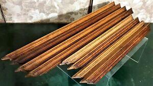 8 Groove wood carving trim frieze pediment Antique french architectural salvage