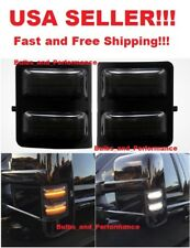 2008-2016 Ford F250 F350 F450 F550 LED Switchback White/Amber Side Mirror Lights