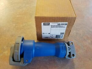 HBL320C6W  Hubbell  Pin & Sleeve Connector 20A  250VAC  2P 3W  Kentucky Stock