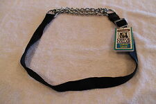 """ASPEN PETMATE DOG CHECK COLLAR - TRAINING - (BLACK) - LARGE 24"""" to 36"""" - 1"""" wide"""