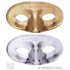 Maschere Widmann oro argento per carnevale e teatro