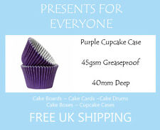 50 x Purple Cupcake / Muffin Cases