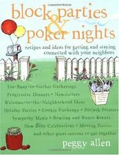 Block Parties & Poker Nights: Recipes and Ideas fo