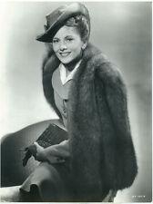 JOAN FONTAINE Suspicion Oversize Orig 1941 Fashion Photo DBWT