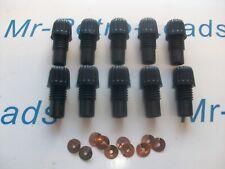 10 x Distributore Acorn Nut morsetti a vite in 10 x OTTONE SPLIT RONDELLE 1930-60s