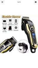 KEMEI Professional Hair Clippers Mens Barber Set Cordless Trimmer Shaver