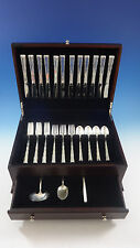 Madrigal by Lunt Sterling Silver Flatware Service For 12 Set 51 Pieces