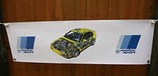 vw corrado g60 large pvc  WORK SHOP BANNER garage  SHOW BANNER office