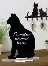 WENKO Memotafel Katze Inkl. 6 Kreidestücke